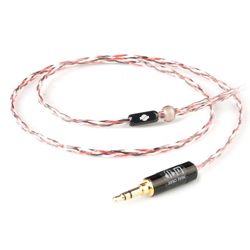 小凡 MK4 8芯耳机线材diy带麦4.4 2.5mm平衡线im03se535im70n3apie80耳机升级线