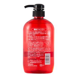 熊野油脂洗发水日本咖思美温和去屑滋养柔顺马油椿油洗发液600ml