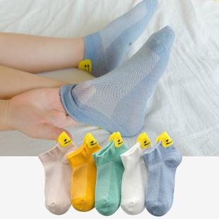 儿童袜子夏季薄款网眼春夏袜纯棉男童女童夏天童袜船袜宝宝新生婴