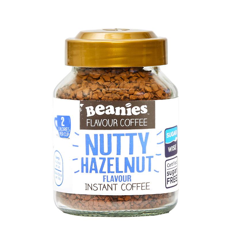 英国原装进口Beanies贝尼诗冻干速溶精品黑咖啡低脂低卡无庶糖