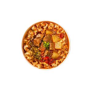 劲面堂牛肉刀削面3盒装组合川味番茄泡椒牛肉原汤面非油炸冻干面