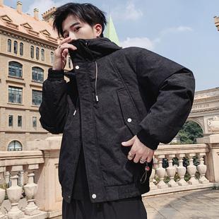 冬季2019新款棉服男韩版潮牌加厚宽松带帽男士棉袄青少年棉衣外套