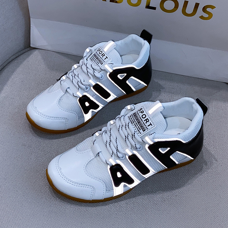 网面小白鞋女鞋2020年春季新款百搭爆款透气白鞋夏季薄款运动网鞋