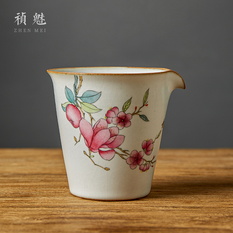 Fair shot incarnate your up hand - made yulan large cup of jingdezhen ceramic kung fu tea set with parts tea sea points