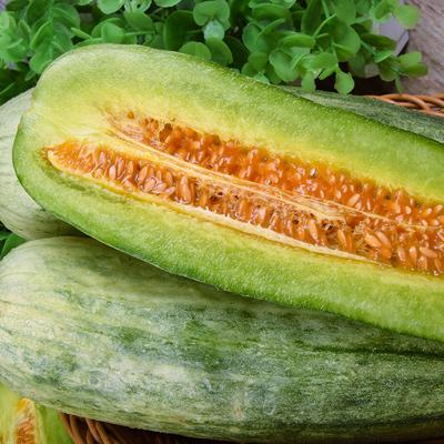 山东羊角蜜甜瓜新鲜当季时令水果脆10应季现摘小香瓜5斤顺丰包邮