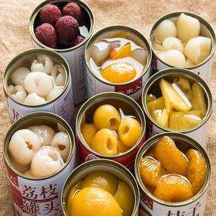 【多种可选】夏日水果罐头