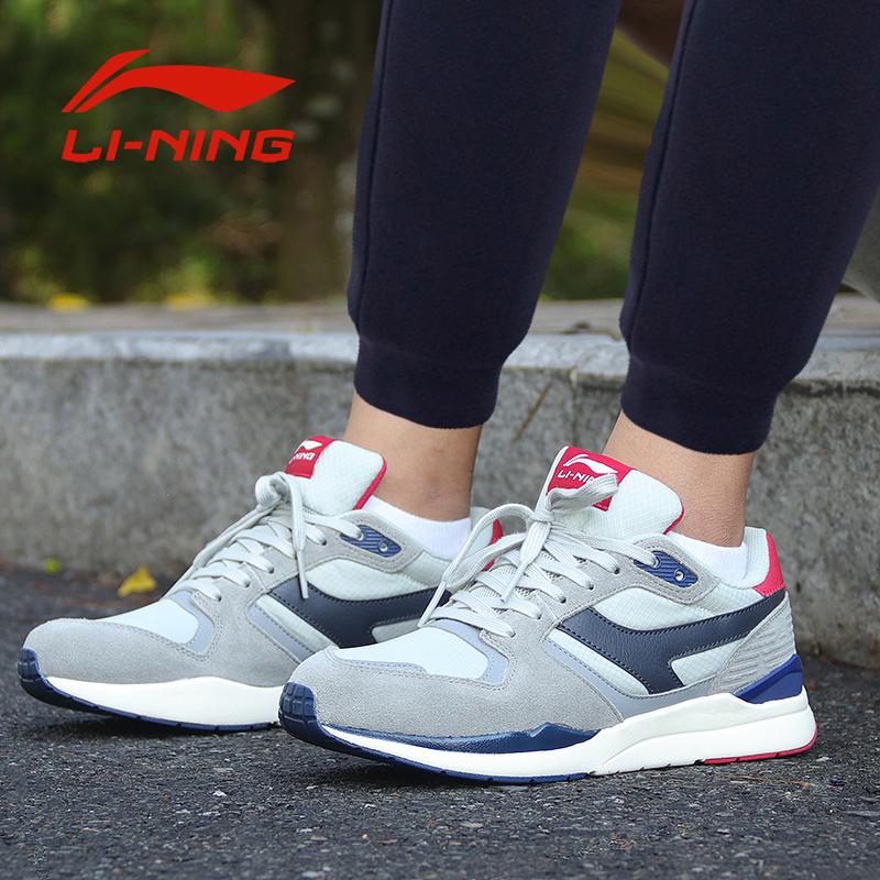 李宁跑步鞋男鞋休闲鞋秋季新款反光鞋网面透气减震跑鞋运动鞋板鞋