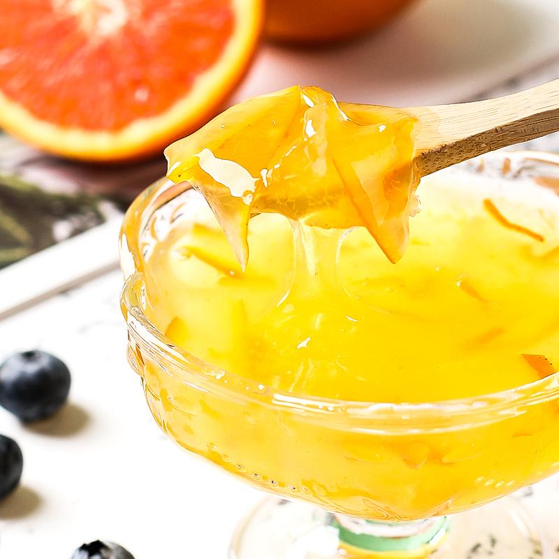 蜂蜜柚子茶蜜桃乌龙茶果酱图片_3