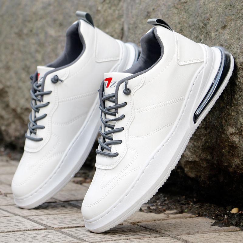 秋季男士气垫小白鞋男透气潮鞋运动鞋子休闲跑步鞋男韩版男板鞋