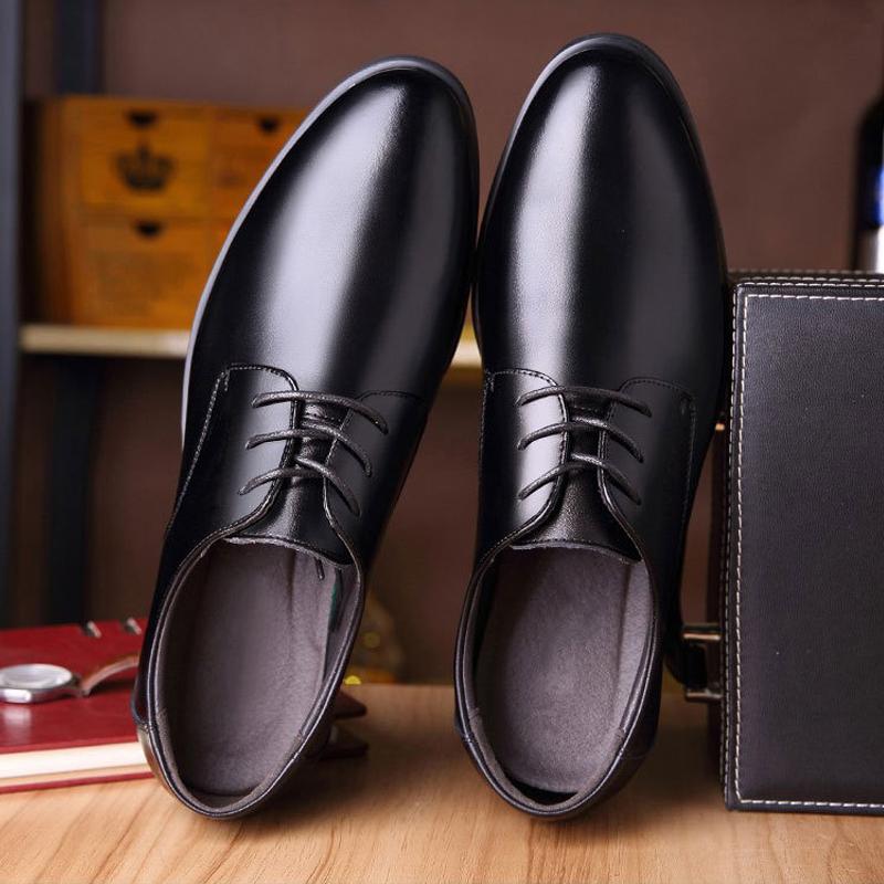 2021春季新款男士商务男皮鞋休闲时尚潮流男装低帮鞋