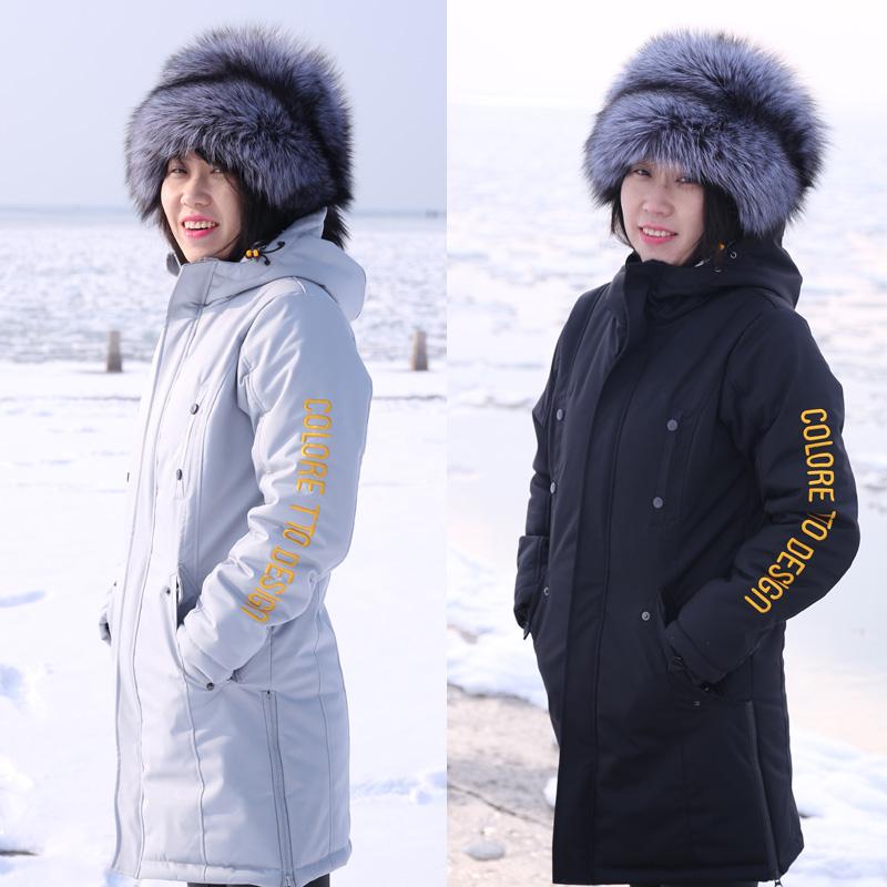 COLORETTO 户外防风防水女单双板滑雪服保暖棉服登山服滑雪衣