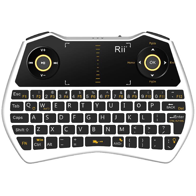 rii i28无线小键盘 usb笔电脑外接办公便携式台式微型迷你键盘