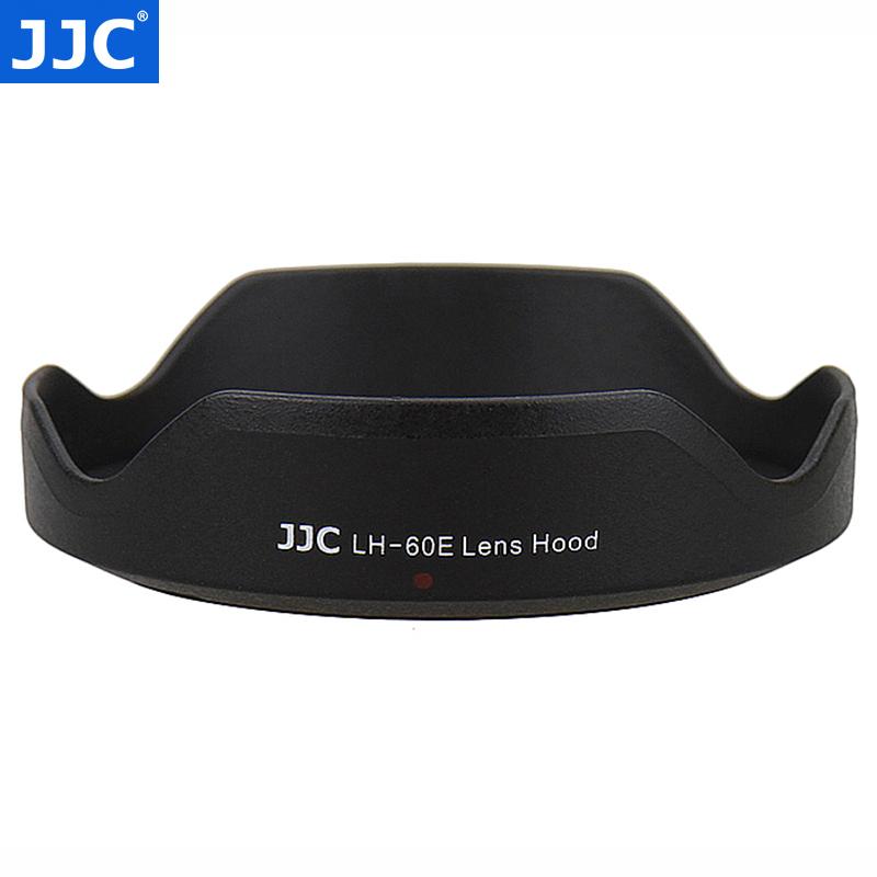 JJC 佳能EW-60E遮光罩EF-M 11-22mm STM微单11-22 卡口配件 55mm