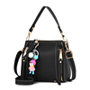 ins over the fire on the new small bag female 2017 new wave of Korean version of the simple wild Messenger bucket bag mini handbag