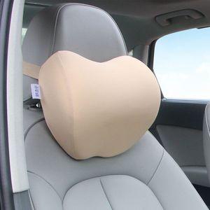 苹果汽车记忆棉头枕护颈枕头车上用靠枕腰靠一对颈椎车内车载用品
