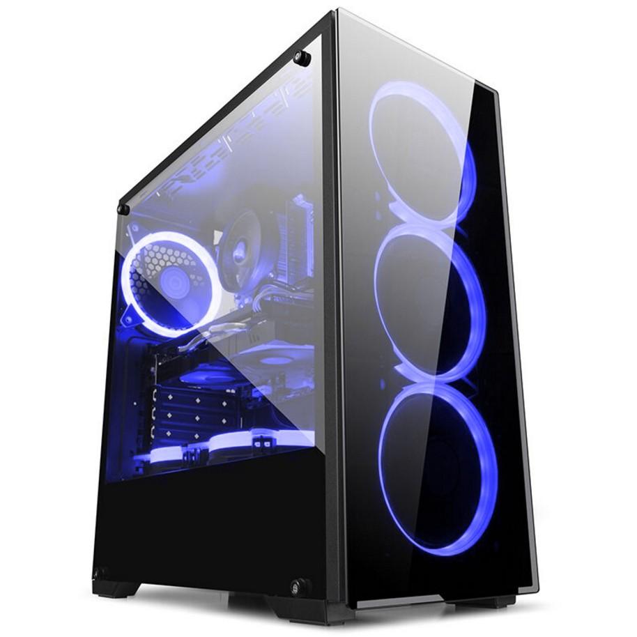 I7 8700K电脑主机GTX1060独显游戏主机DIY组装台式电脑整机兼容机