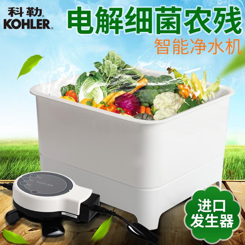 科勒洗菜机水果果蔬消毒清洗机家用蔬菜解毒机全自动净化机76792T