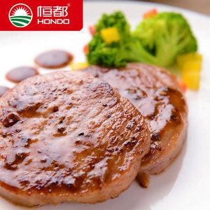 【恒都】 菲力牛排100gx10片送酱包  国产谷饲黑胡椒口味