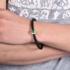 永思珠宝 36分18K金祖母绿镶嵌12分钻石时尚男女手绳手链彩色宝石
