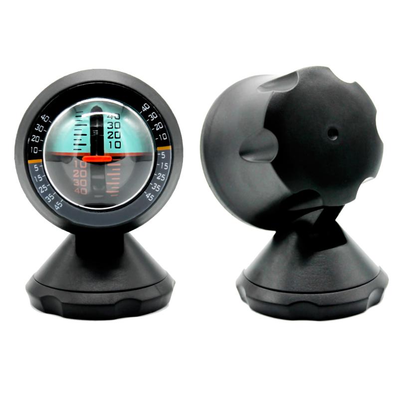 车载自感应坡度仪越野车用测量仪坡度角度尺水平仪平衡仪汽车用品
