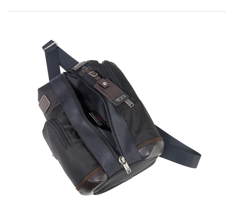 tumi途明官方正品0222393hk2防划耐磨休闲单肩斜背包黑色图片