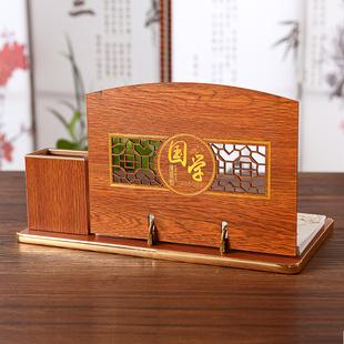 高档木质台历礼盒装!