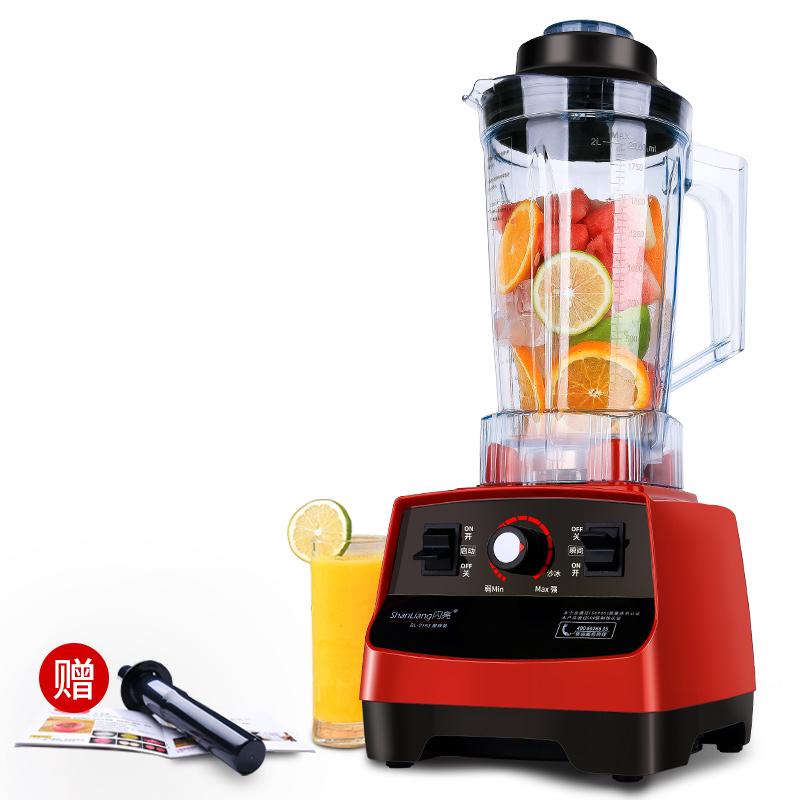 闪亮BL-0193沙冰机商用奶茶店冰沙机家用碎冰豆浆果汁两用榨汁机