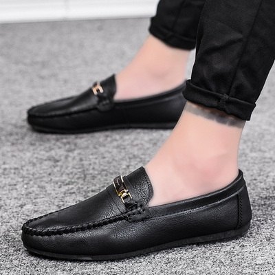 Men Leather Shoes Man Business Formal Shoes 250814