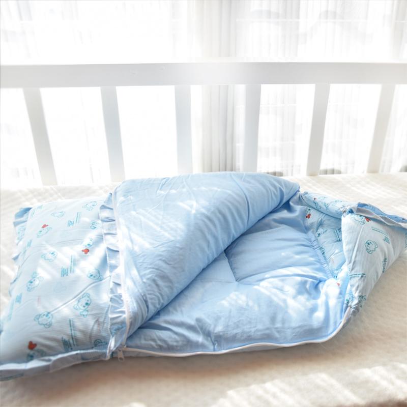 新生儿纯棉秋冬季包被子初生婴儿宝宝用品冬款加厚抱被睡袋带拉链