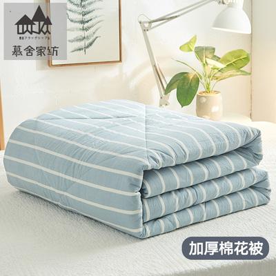 新疆棉絮棉花被被芯纯棉花加厚保暖被子冬被全棉床垫被春秋被褥子