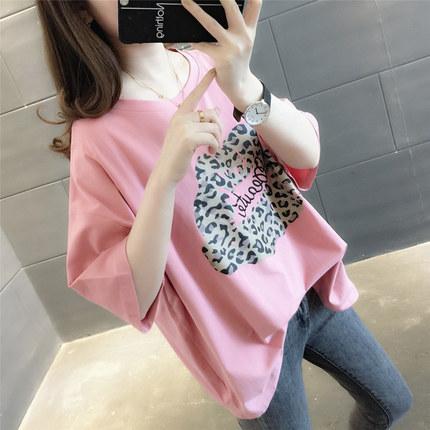 [花相宜旗舰店T恤]ins半袖女装短袖t恤女韩版2019月销量5207件仅售69元