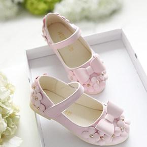 1到8岁2女孩子3秋季宝宝鞋小孩女童鞋秋天7童装5公主单鞋子4舞蹈6