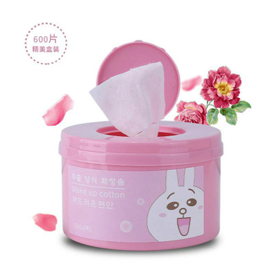 Cotton Cleansing Cotton 600 Boxed Cotton Genuine Face Deep Cleansing Makeup Water Makeup Remover Tool