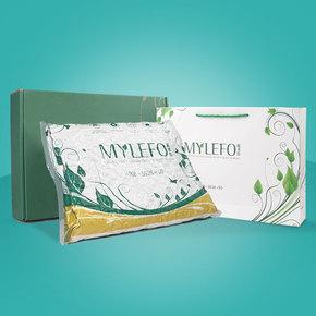 泰国乳胶枕头 护颈枕按摩保健枕记忆枕芯