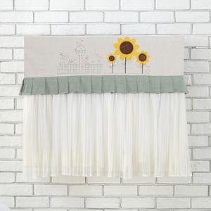 空调挡风板防直吹月子遮风板通用壁挂式风口卧室挡风帘档d挡风罩
