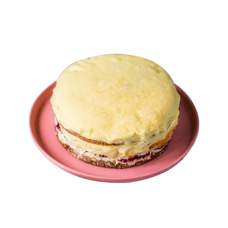 巧师傅千层蛋糕 冷链顺丰包邮水果生日蛋糕 彩虹千层600g