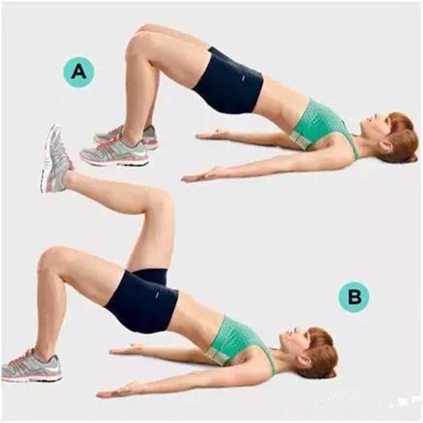 5个超简单动作坚持一周,轻松瘦成筷子腿