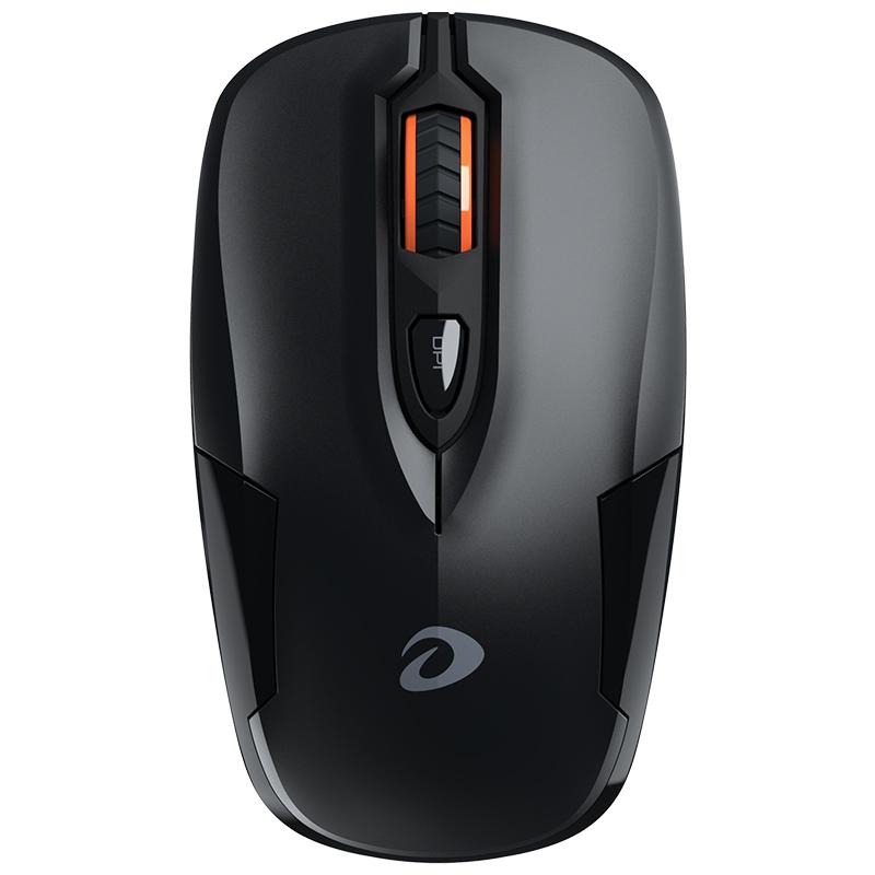 官方旗舰店达尔优LM110G无线光电小鼠标办公家用笔记本台式机省电