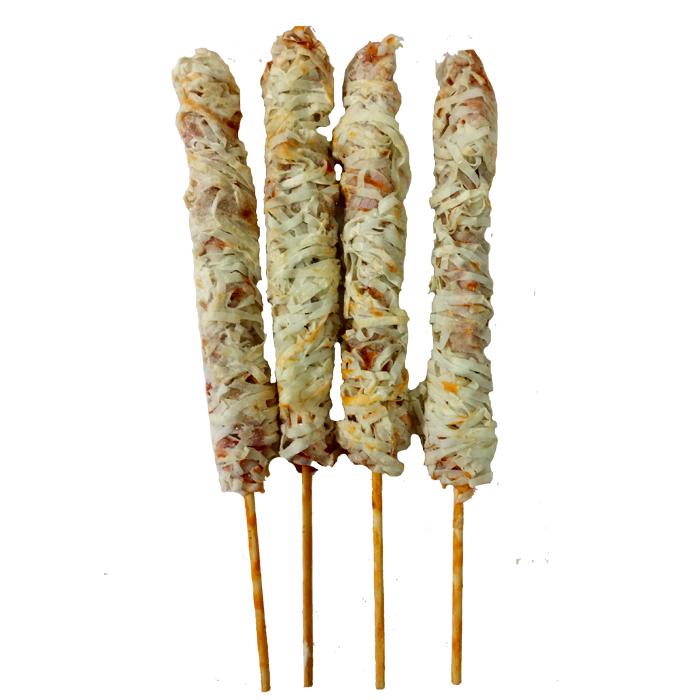 金丝鸡肉棒 15串油炸食品鸡肉棒 香酥黄金鸡柳 整箱8