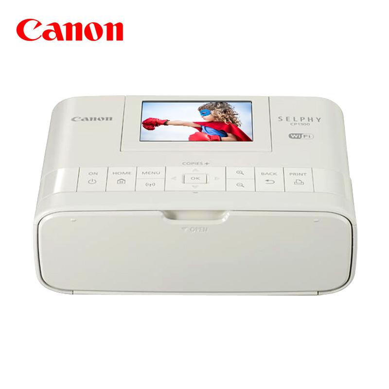佳能cp1300手机照片打印机canon迷你小型家用便携式口袋自动快速彩色相片冲印无线wifi学生掌上随身黑白图片