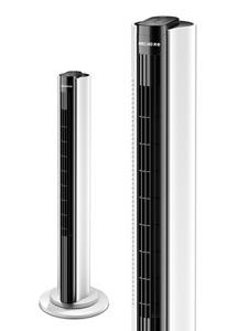 美菱电风扇塔扇落地扇摇头无叶塔式静音立式台式风扇电扇