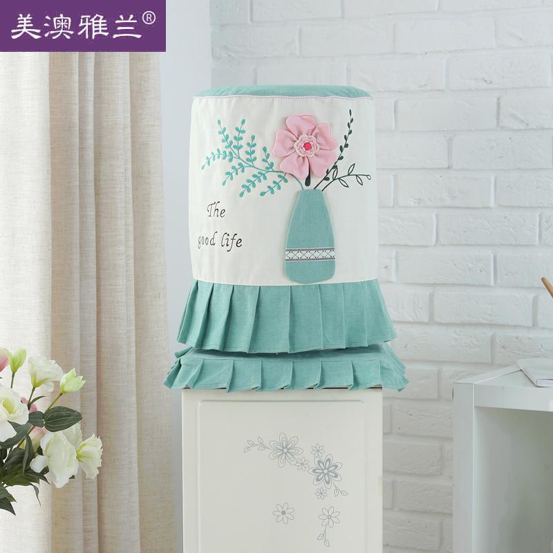 美澳雅兰 布艺饮水机罩子韩式版可爱田园矿泉水防尘罩立式水桶套