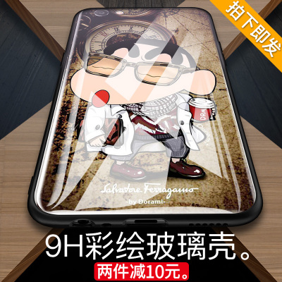 Oppor9s mobile phone shell glass r9plus soft dirty oppo r9sk personality creative m tide 0pp0