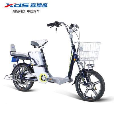 喜德盛电动车梦逸350-6电动自行车成人代步电瓶车滑板车新品上市