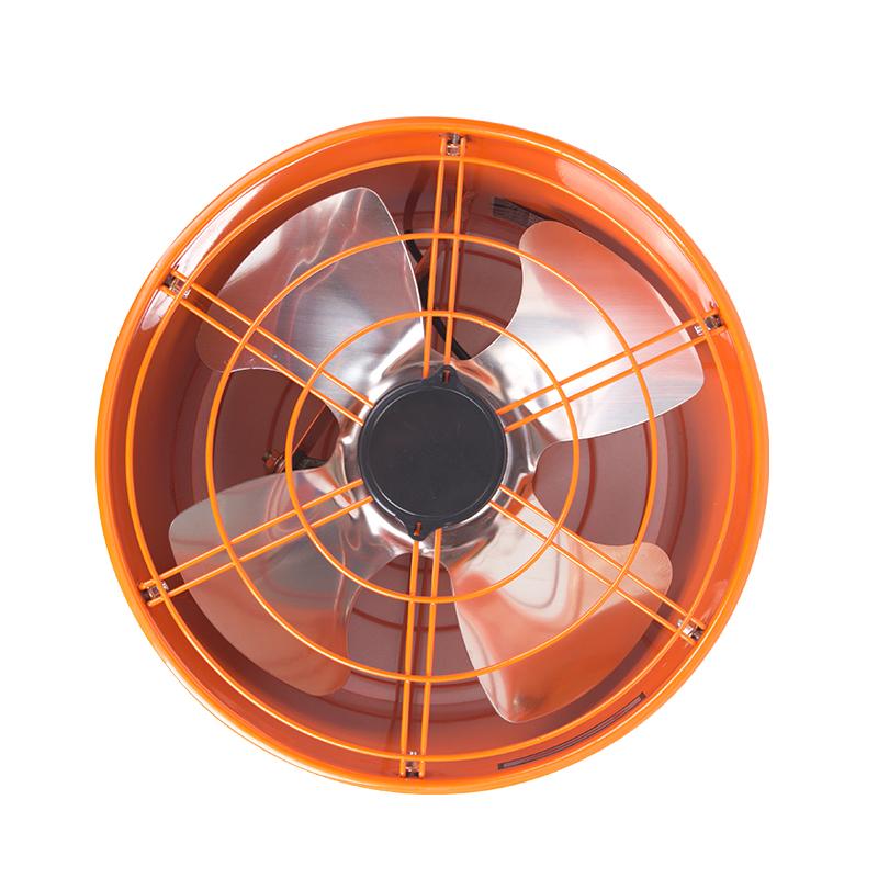 圆筒排气扇12寸工业家用抽烟机风扇强力油烟排风扇厨房换气抽风机