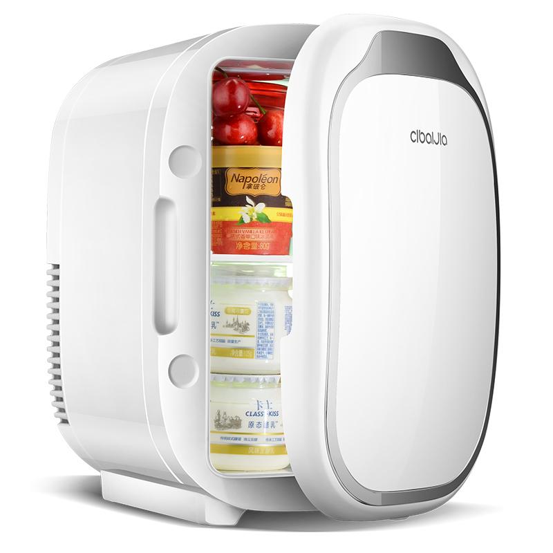 6L迷你小冰箱小型制冷冷藏家用学生宿舍单门式车家两用二人世界