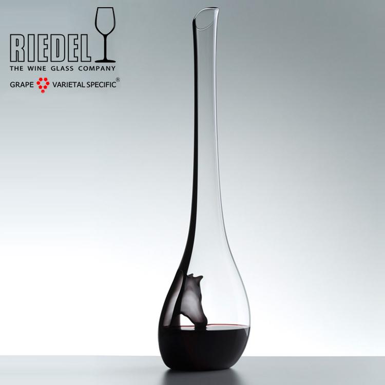 奥地利进口Riedel 手工马年限量水晶创意红酒醒酒器葡萄酒分酒器