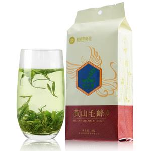 黄山毛峰2017新茶安徽绿茶原产地雨前特级散装浓香型茶叶100g袋装