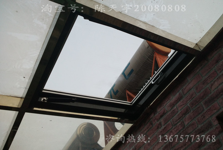 Sun Room Ventilation Skylight Flat Roof Lighting Window Basement Manual  Power Window Inclined Roof Channel Sunroof
