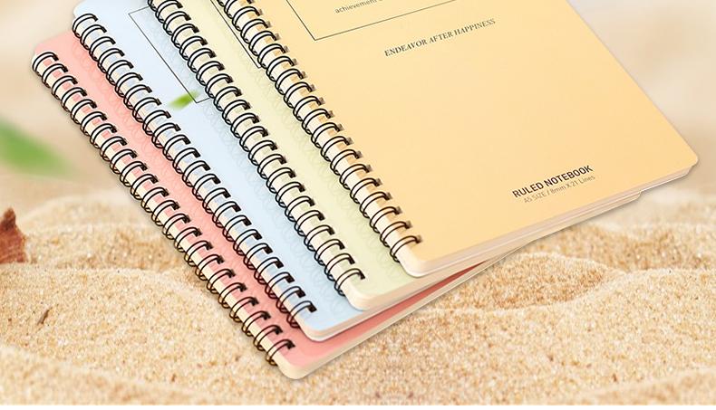 【8本】得力笔记本文具A5/B5线圈本记事本日记本练习本本子批发